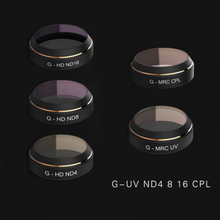 PGYTECH G-ND4 ND8 ND16 MCUV CPL Filter Lens Set Gimbal Accessories  for DJI Mavic Pro Drone Quadcopter