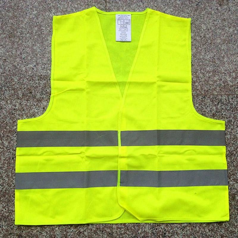 Protective Reflective Vest Safety Clothes Highway Traffic