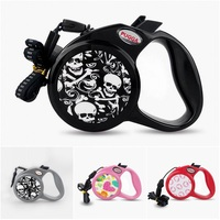 3M 5M 8M Retractable Dog Leash Automatic Extending Pet Walking Leads For Small Medium Large