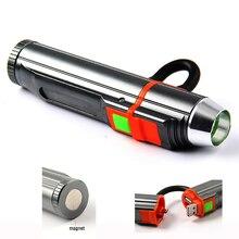 Тактический светодиодный фонарик 2000LM супер яркий USB Фонари Многофункциональный Мощность банк Linternas магнит 18650 или 3 * AAA кемпинг