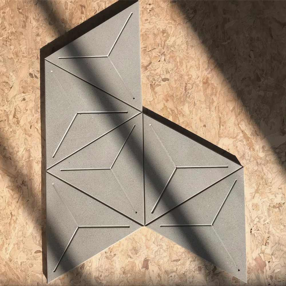 concrete tile mold silicone rubber wall