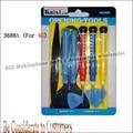 Original Kaisi 10 in 1 Opening Tool Screwdriver Repair Kit Set screws mat screwmat for iPhone4 4S for iPd model 3688 Free Shipp
