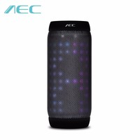 AEC BQ 615S Portable Bass Stereo Bluetooth Speaker With Colorful LED Lights Support Audio TF NFC