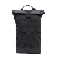 Women Diamond Shaped Backpack Feminine Geometric Plaid Female Backpacks For Teenage Girls Bagpack Holographic Backpack