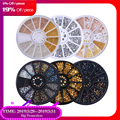 Mixed Color Chameleon Stone Nail Rhinestone Small Irregular Beads Manicure 3D Nail Art Decoration In Wheel Accessories