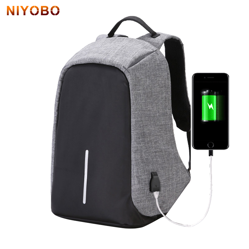 Men Anti Theft Backpack With Usb Charging Laptop Business Unisex Knapsack Waterproof Oxford Women Travel Back Bag Mochila anti theft backpack usb charging men laptop backpacks for teenagers male mochila waterproof travel backpack school bag dropship