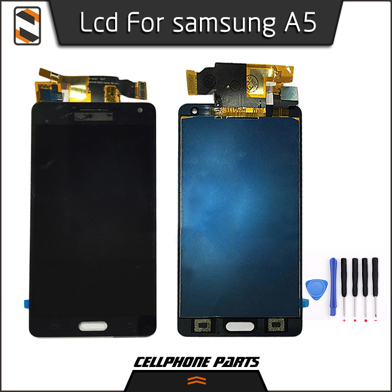 ФОТО LCD for Samsung Galaxy A5 2015 A500 A5000 A5009 A500F A500FU A500FQ A500M A500Y Display Touch Screen Digitizer Assembly Repair