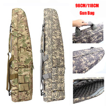 Military Tactical Gun Bag Air Gun Rifle Case Shoulder Pouch Hunting Airsoft Shooting Army Heavy Duty Gun Carry Protection Bag tactical soft gun bag black heavy duty tactical shotgun rifle case shoulder pouch carbine bag shooting gun carry case