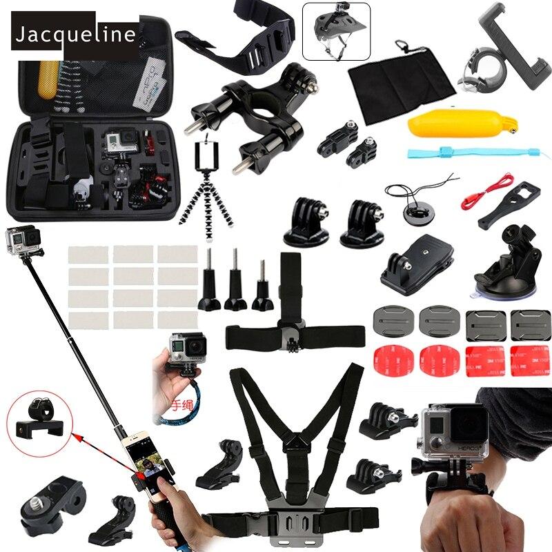 Jacqueline pentru setul de accesorii Kit pentru eroul Gopro 6 5 4 3 - Camera și fotografia