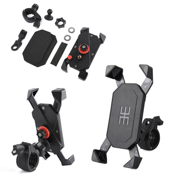 Motorcycle Bike Handlebar Cell Smart Mobile Phone GPS Mount Holder Stand Bracket for Honda Yamaha image