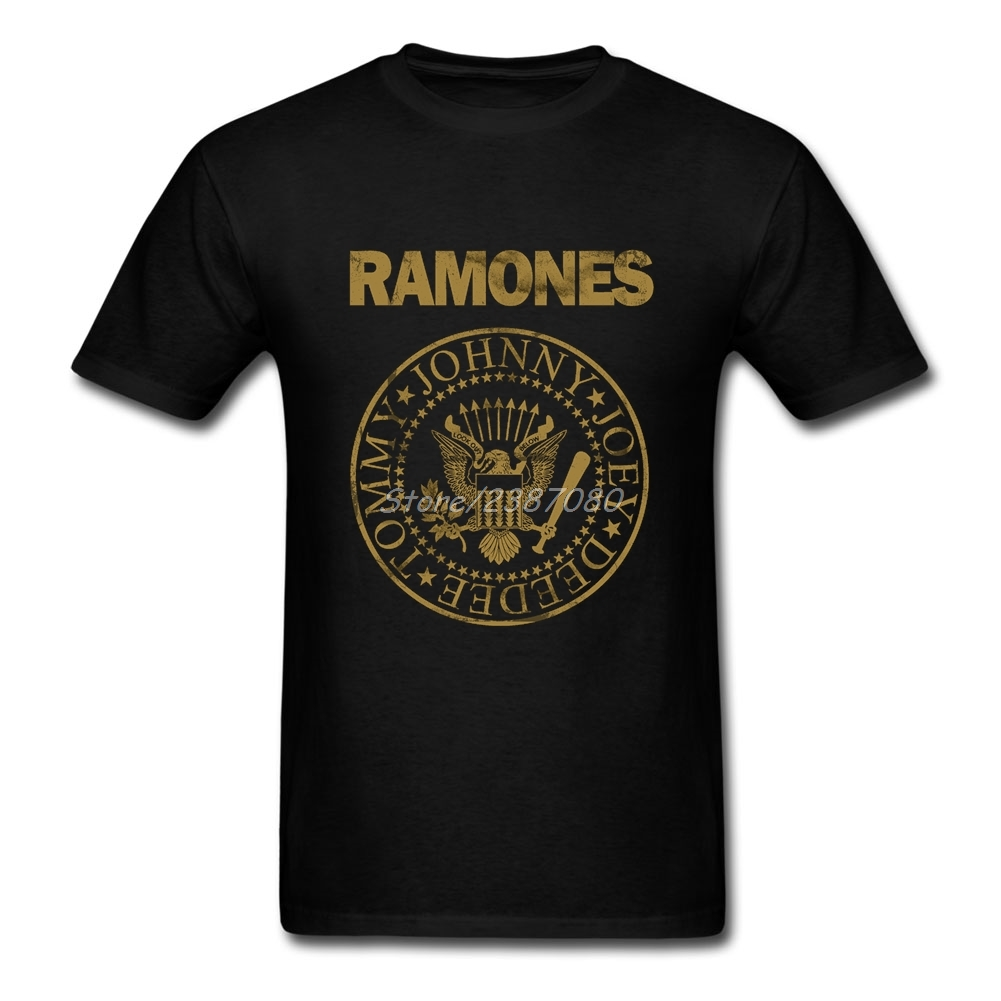 Ramones   T     Shirt   3XL Short Sleeve Custom Men's Clothes New Style Cosplay Cotton Crewneck Tee   Shirts   Homme