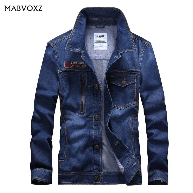 Spring and Autumn Men Jeans Jacket New 2018 Short European and American Style Fashion Coats Pockets Design Windbreaker Tooling