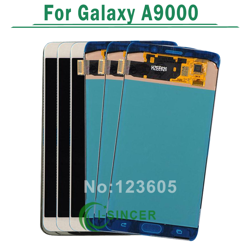 5PCS/LOT For Samsung For Galaxy A9 A9000 LCD Display + Touch Screen Digitizer Assembly Replacement Parts Free DHL чехол samsung ef wa710pwegru для samsung galaxy a7 flip wallet белый