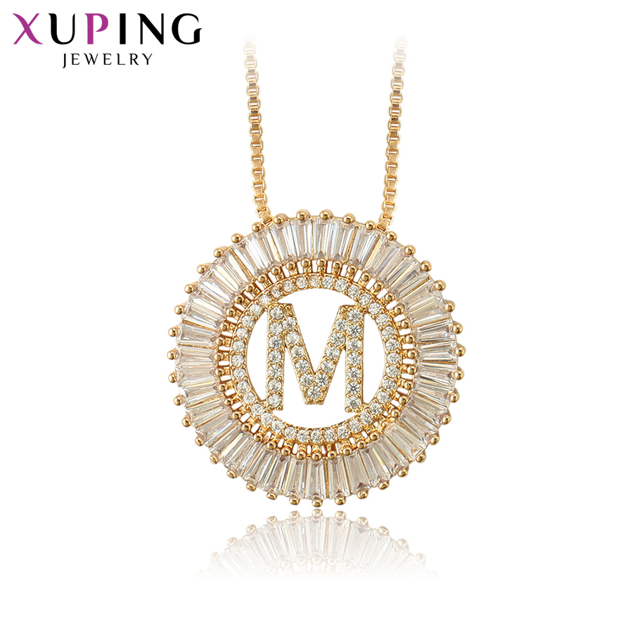 цены 11.11 Deals Xuping Jewelry Simple Letter