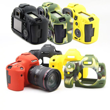 DSLR Liner Bag Silicone Camera Case Bag Cover for Canon 5D3 5DIII 5D Mark III MarkII 5DS 5DSR Digital SLR Camera,Free Shipping