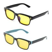 6ff5b3f19 Mayitr 2 الألوان للجنسين مكافحة الأزرق ضوء الإشعاع التلفزيون الكمبيوتر  الألعاب نظارات حماية العين نظارات