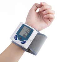 Wrist Blood Pressure Monitor Heart Rate Monitor Portable Ecg Monitor Health And Wellness Wrist Blood Pressure Meter