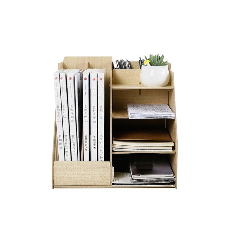 Домашний декор коробка для хранения офисная аккуратная полка для хранения книжный журнал канцелярские стеллажи держатель
