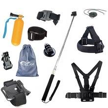 Палка для селфи на ремешке Tekcam, аксессуары для экшн камер SJCAM SJ4000, SJ5000, SJ6 Legend, SJ7, Star, SJ8, AIR, SJ8 PRO, SJ8 PLUS