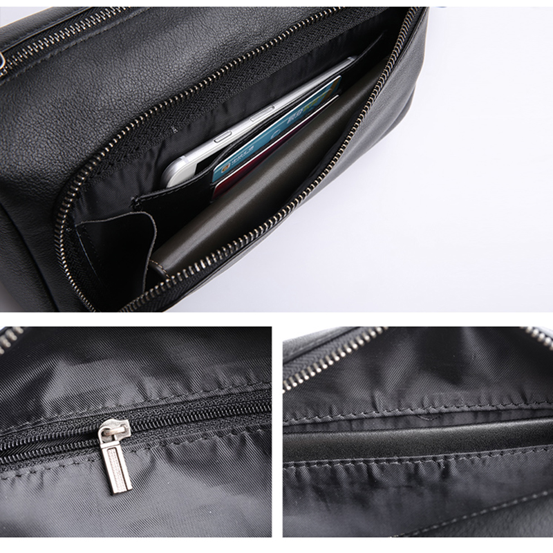 AETOO Head cowhide Shoulder Bag man small bag official document business Leather crossbody bag casual soft leather bag