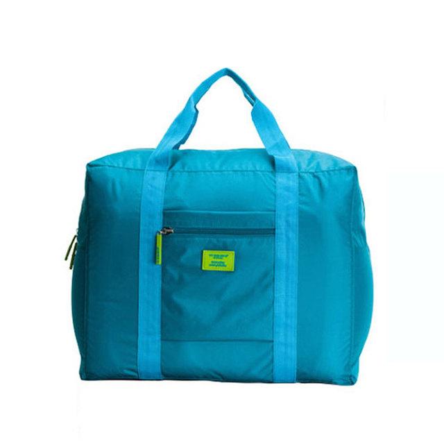 Gros sac femme mulheres viagens nylon impermeável saco de viagem dobrável receber pacote turístico sacos Masculino saco de roupas das senhoras tote