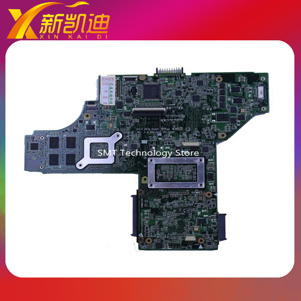 U45JC motherboard for asus laptop i3 cpu main board free shipping