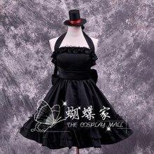 K-on! cos Mio Akiyama cosplay / vestidos enviar guantes y sombrero
