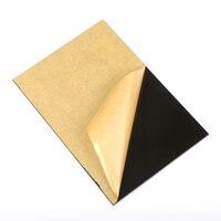 1 peça placa acrílica a4 preto extrudado plexiglass perspex folha pmma placa 297x210mm