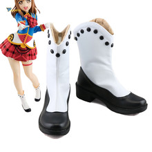 Love Live Sunshine Kurosawa Ruby Aqours Happy Party Train Tour Cosplay Shoes Boots love live sunshine aqours anime kanan mari chika yoshiko ruby dia hanamaru kunikida happy party train birthday rubber keychain