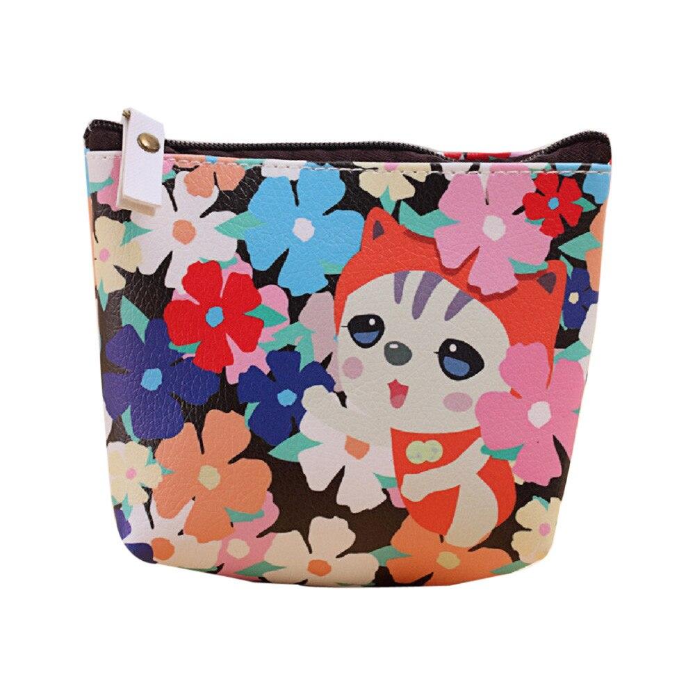 New Fashion Casual Women Bag Girls Cute Fashion Coin Purse Wallet Bag Change Pouch Key Holder Female Bags