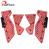 For YAMAHA NMAX N MAX 155 125 NMAX125 NMAX155 N MAX155 15 17 Footrest Pedal Scooter Front & Rear Footboard Steps Foot Plate