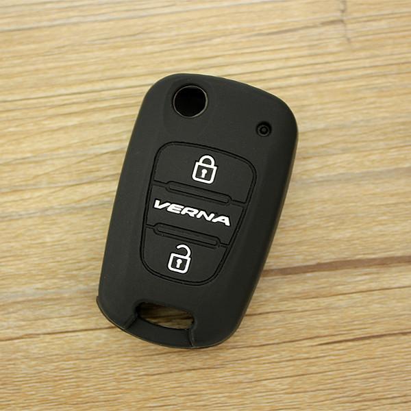 силиконовые дистанционного управления ключа автомобиля дело ключа автомобиля обложка для Хендай верна