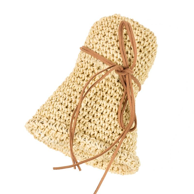 Verano Sombreros de Paja Moda Mujer Sombrero Floppy de Ala Ancha - Accesorios para la ropa - foto 5