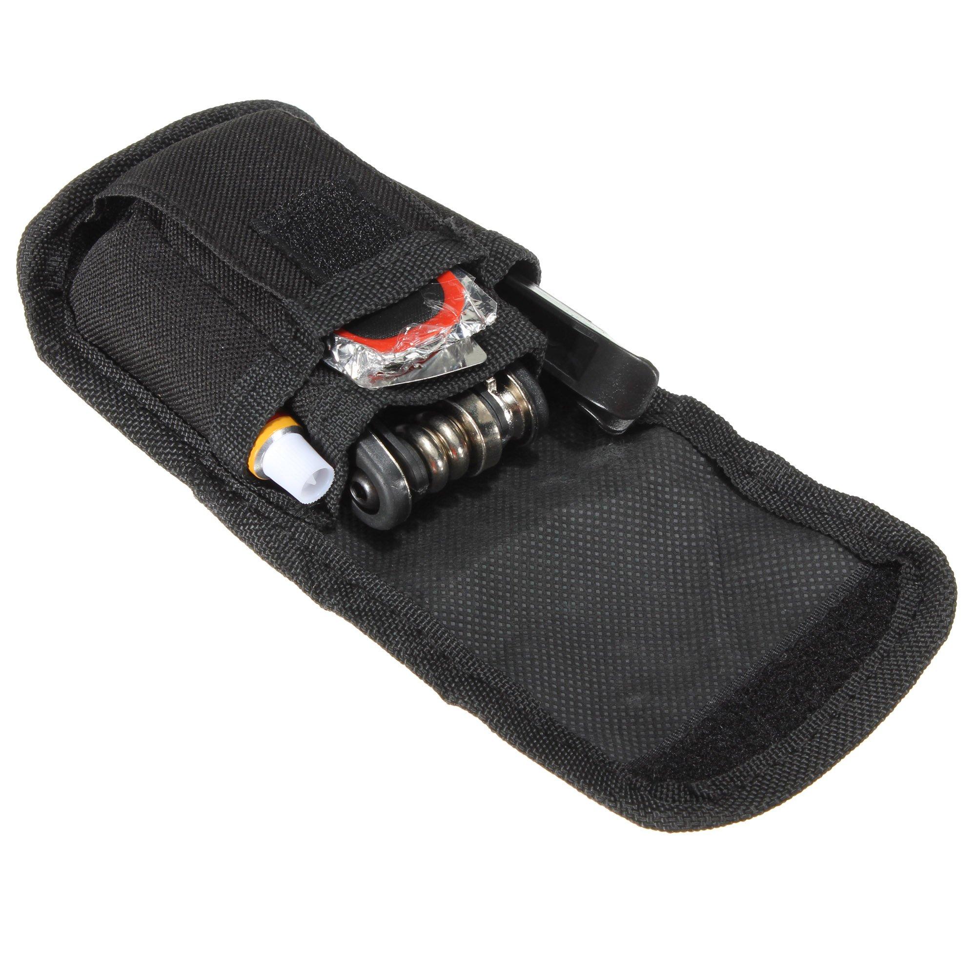 SAHOO Bike Bicycle Tool Tire Repair Kit Repair Set Repair Patch + Pocket