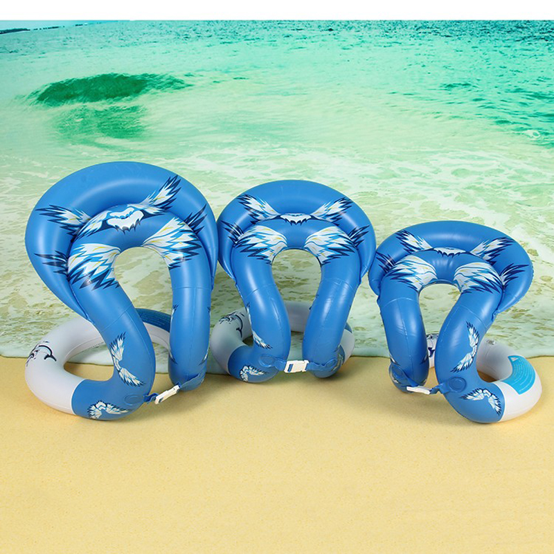 1 Pcs Swimming Ring U Shape Inflatable Floating Swim Rings Water Pool Toys Swimming Laps Float Circle Vest For Children Adult