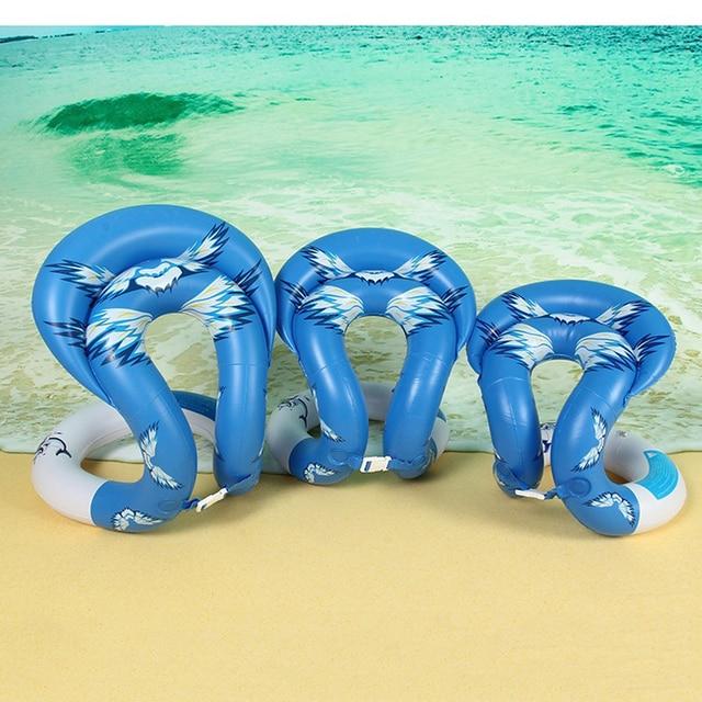 1 piezas anillo de natación forma inflable flotantes anillos piscina juguetes de agua para nadar círculo flotante chaleco para niños adultos