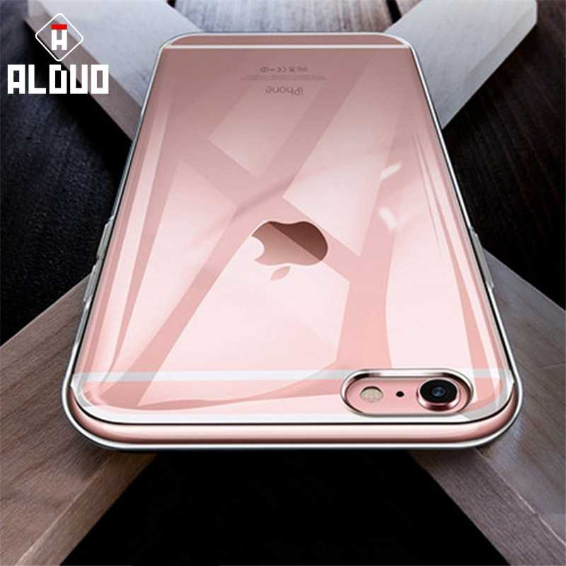 Transparent Case For iPhone 5 5s 6 6s 7 8 Plus X 6plus Soft Coque Silicone Clear Phone back cover For iPhone X XR XS Max Cases