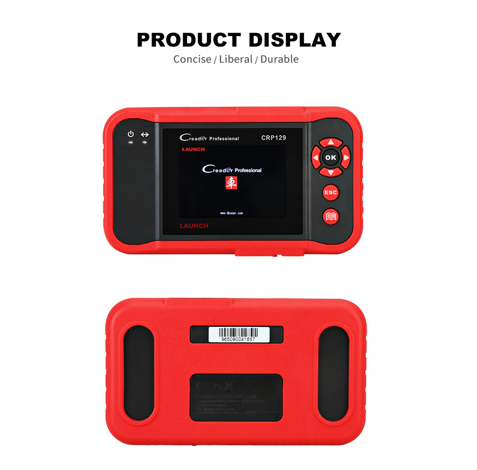 Image 3 - Launch X431 Creader CRP129 Auto Code Reader OBD2 Scanner OBDII Automotive Diagnostic Tool Machine Creader VIII 8 ABS SRS Tools-in Code Readers & Scan Tools from Automobiles & Motorcycles