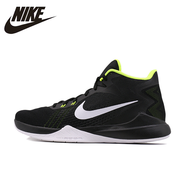 NIKE New Arrival 2016 New Pattern Shoes Basketball Shoes Male Light Sport Time  Shoes For Men