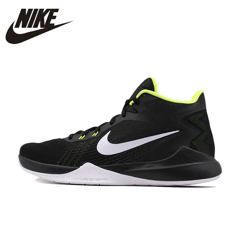 NIKE Nouvelle Arrivée 2016 Nouveau Modèle Chaussures de Basket-Ball Chaussures Hommes Lumière Sport Temps Chaussures Pour Hommes #852464