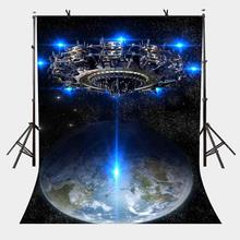 5x7ft Science Fiction Backdrop Dark Stars Science Fiction Party Photography Background and Studio Photography Backdrop Props жар птица dvd