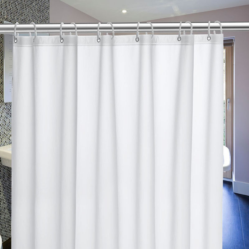 UFRIDAY Brand Shower Curtain PEVA Mildew Bath Curtains With Magnetic Bottom Semi Transparent Waterproof Bathroom In From Home