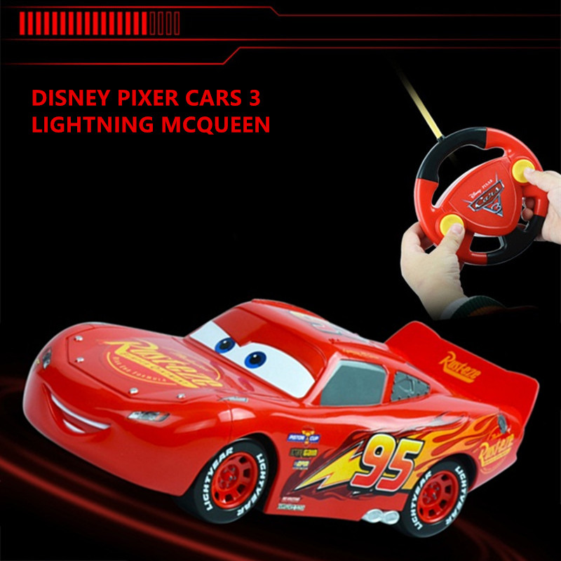2017 new disney pixar kids rc cars lightning mcqueen cars 3 xmas gifts toys for boys