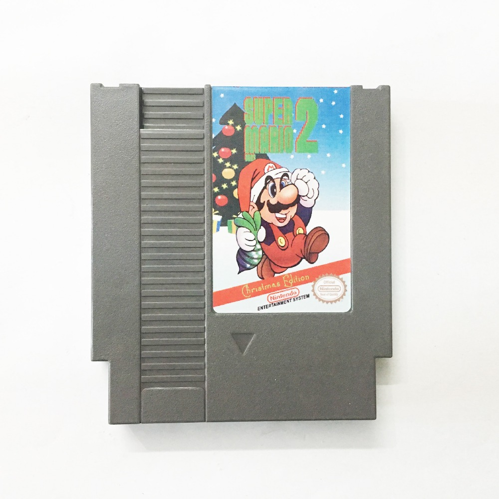 Super Bros. 2 – Christmas Edition Game card 72pin 8 bit Game cartridge Drop shipping!