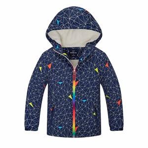 Image 2 - New fashion boys spring autumn early winter jackets coats baby boys children kids windproof waterproof jackets double deck warm