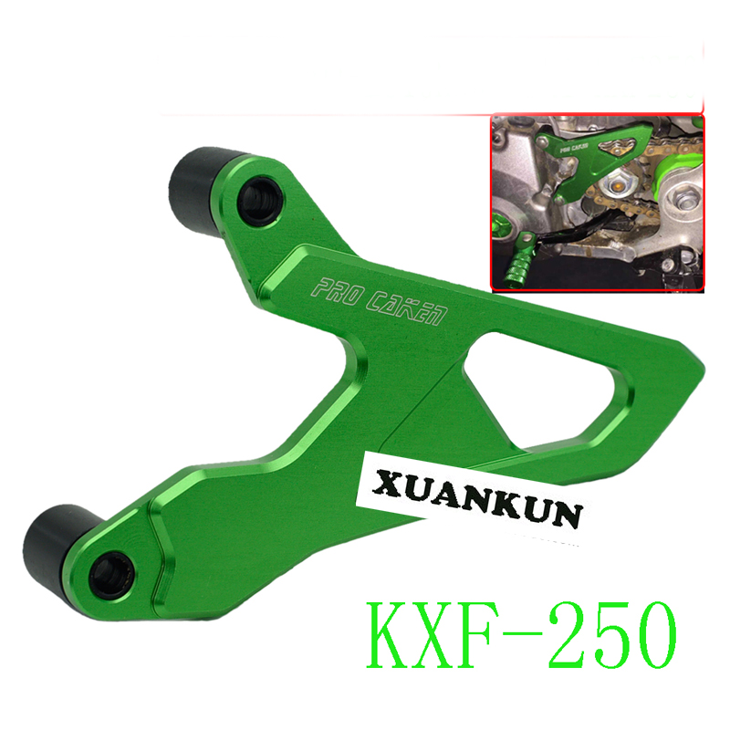 XUANKUN  Off - Road Motorcycle Accessories Kxf250 450 04-16 Aluminum Alloy Cnc Small Sprocket Protection Cover xuankun off road motorcycle accessories off road vehicle drum core