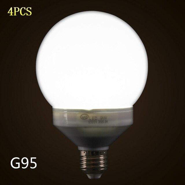 4 STKS G95 LED Lamp Bol Bollen E26/E27 Decoratieve Licht Home ...