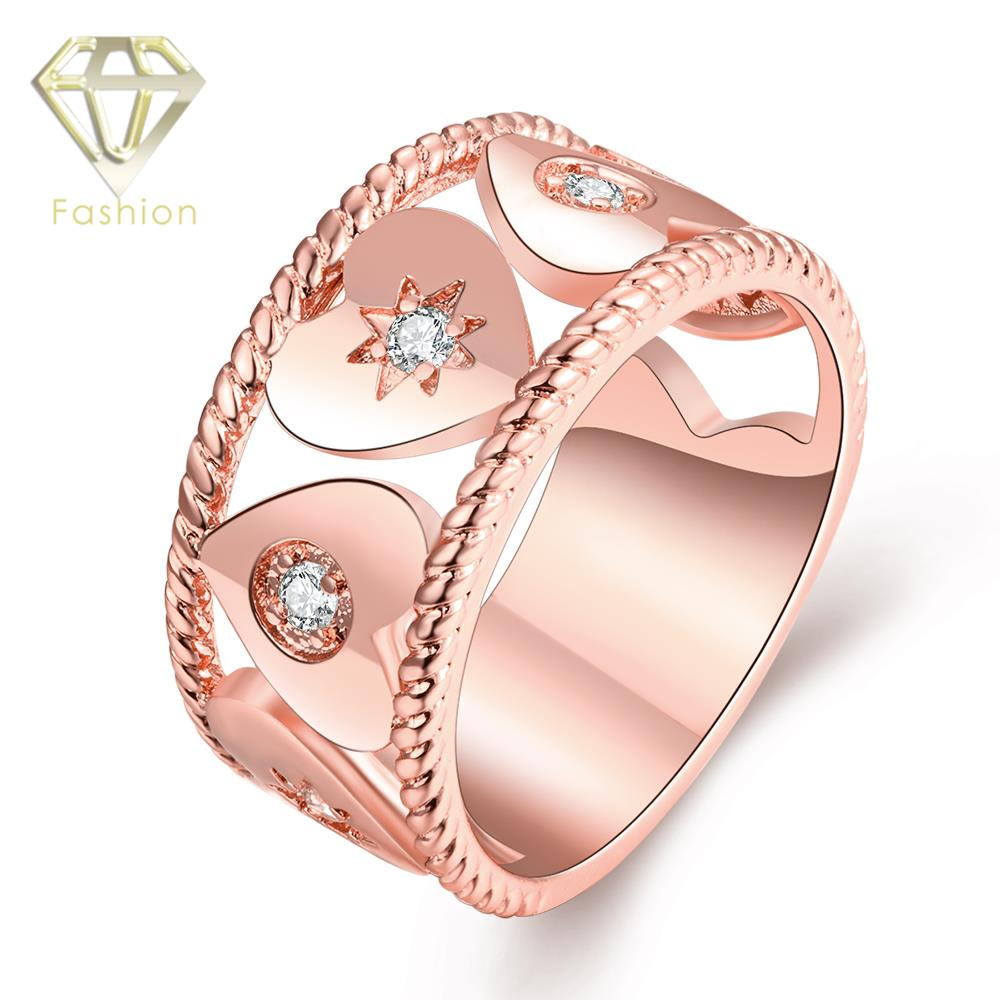 Alternative Engagement Rings New Delicate Gold/Rose gold/White Gold ...