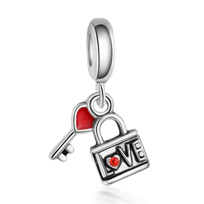 Fit Pandora Charms Silver 925 Original Bracelet Jewelry Valentine 39 s Day Mary Poppins Bijoux Sieraden Boucle D 39 oreille Femme Bead in Beads from Jewelry amp Accessories