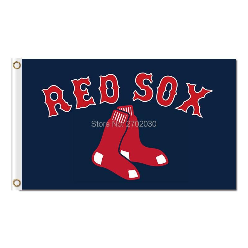 っBoston Red Sox bandera Ventiladores equipo de béisbol banderas ...
